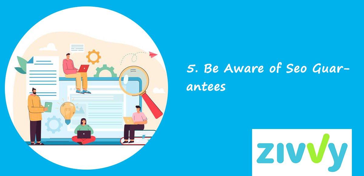 Be Aware of Seo Guarantees