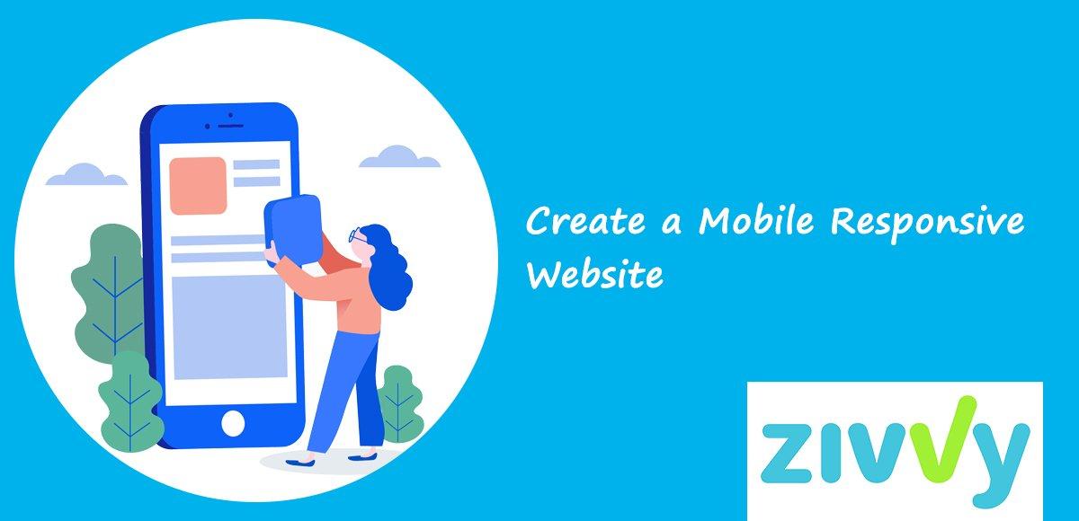Create a Mobile Responsive Website
