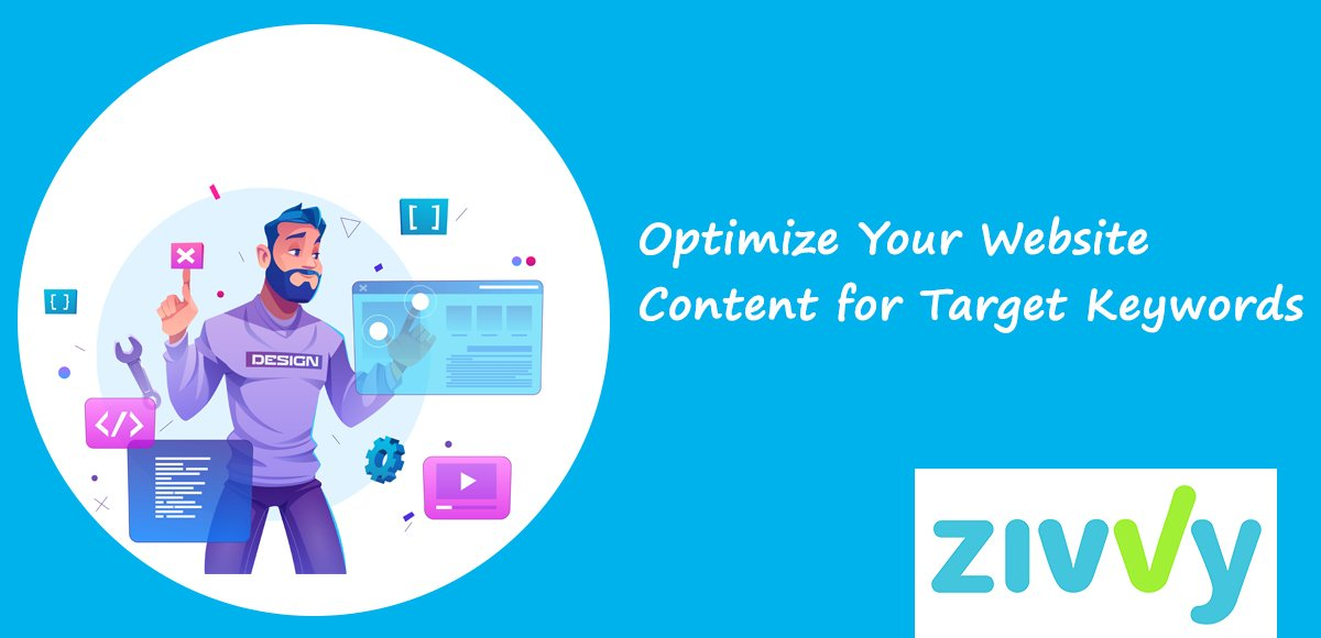 Optimize Your Website Content for Target Keywords