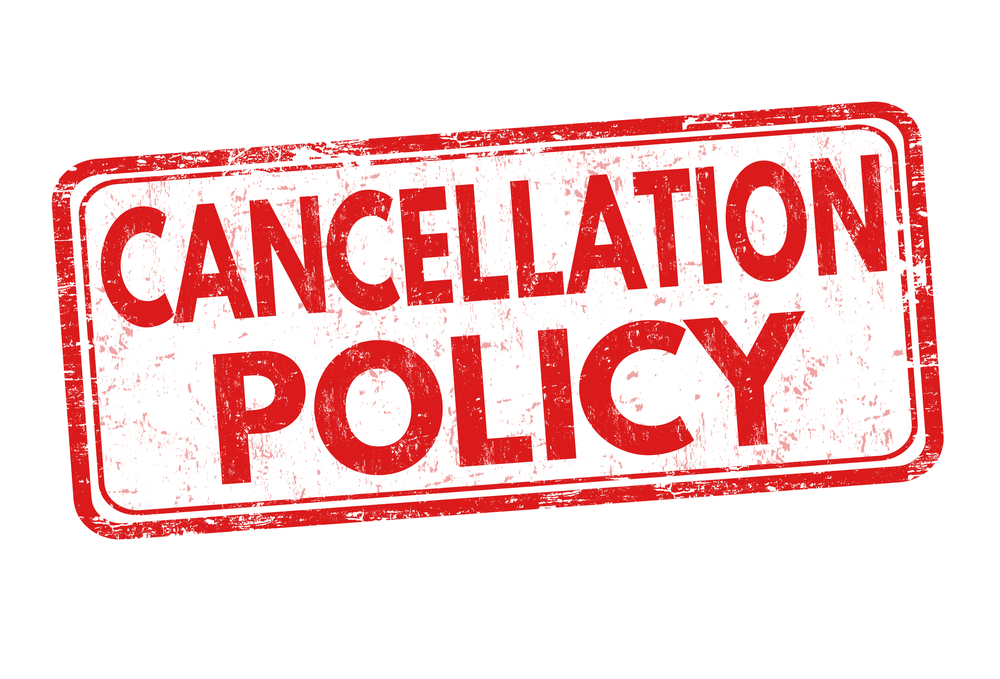 Enforce a No Cancelation Policy